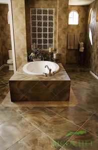 Luxury bathroom construction by Dallas Contractor Ricochet Construction