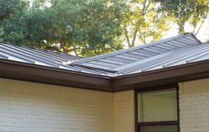 Standing Seam Metal Roof Dallas, TX Residential Remodel